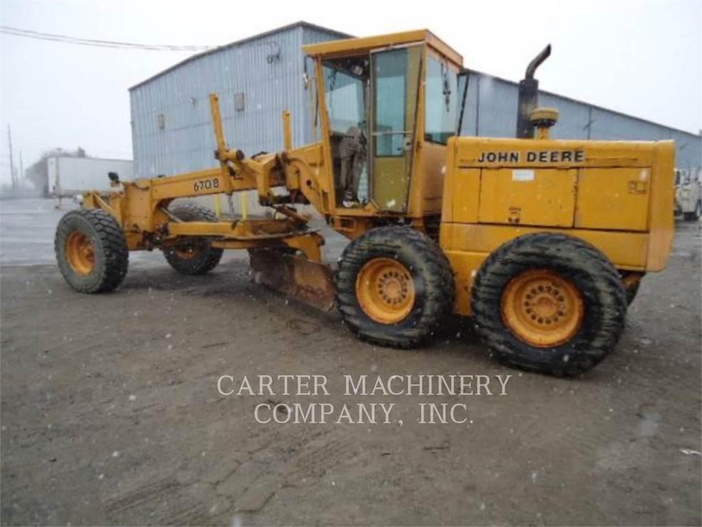 John Deere & CO. DER 670B, bergbau-motorgrader, Bau-Und Bergbauausrüstung