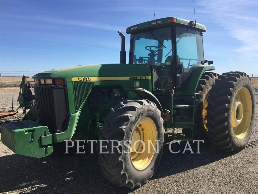 John Deere & CO. JD8400, tractors, Agriculture