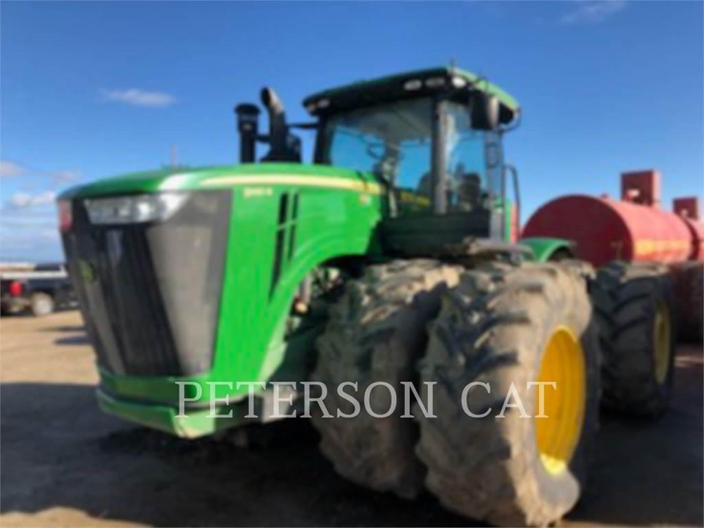 John Deere & CO. JD9410R, tractores agrícolas, Agricultura