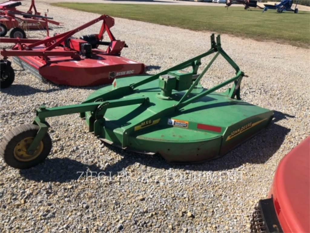 John Deere & CO. MX6, hay equipment, Agriculture