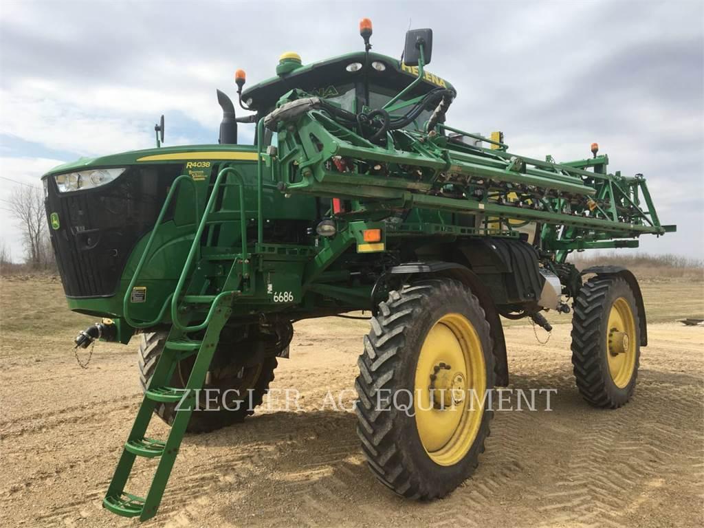 John Deere & CO. R4038, Self-propelled sprayers, Agriculture