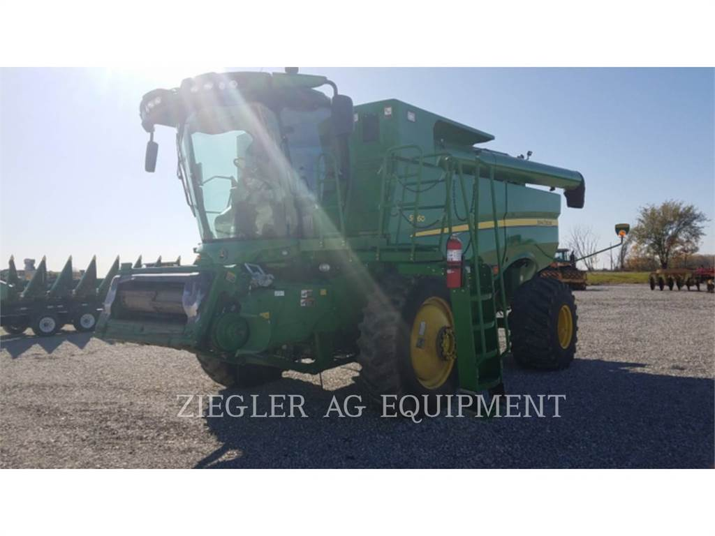 John Deere & CO. S660, mähdrescher, Landmaschinen