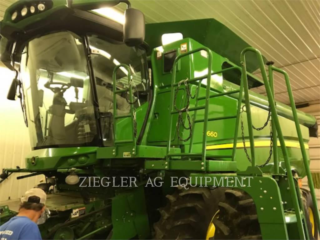 John Deere & CO. S660, combines, Agriculture