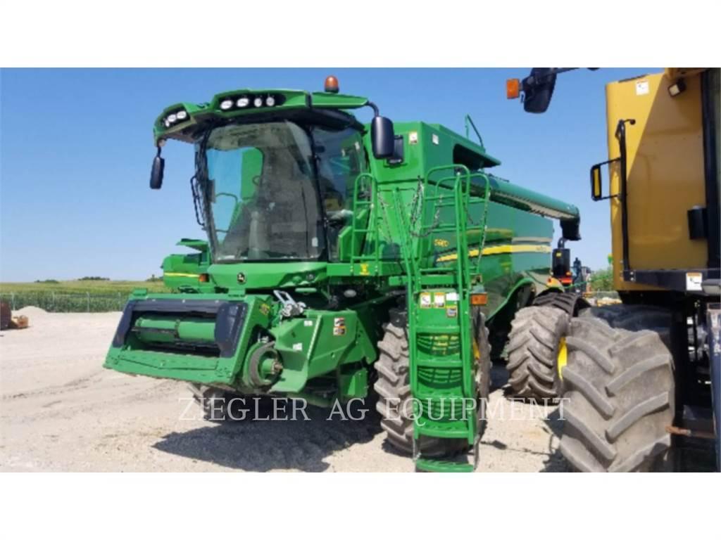 John Deere & CO. S680, combinés, Agricole