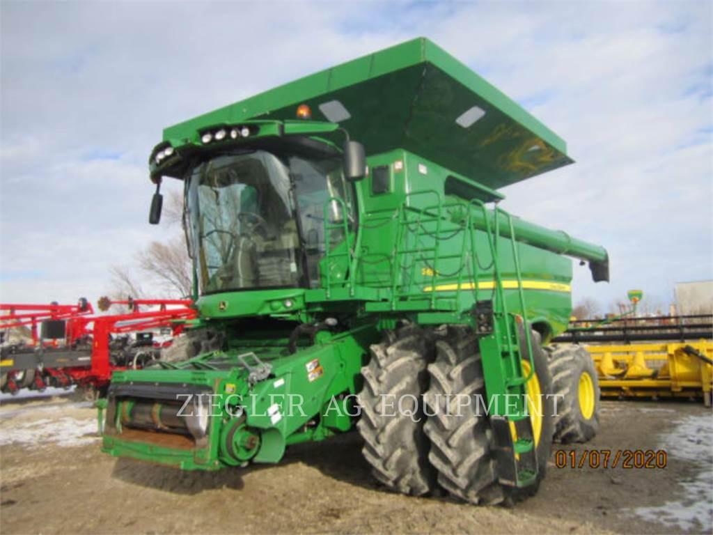 John Deere & CO. S690, combines, Agriculture