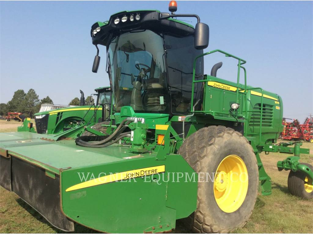 John Deere & CO. W235R, hay equipment, Agriculture