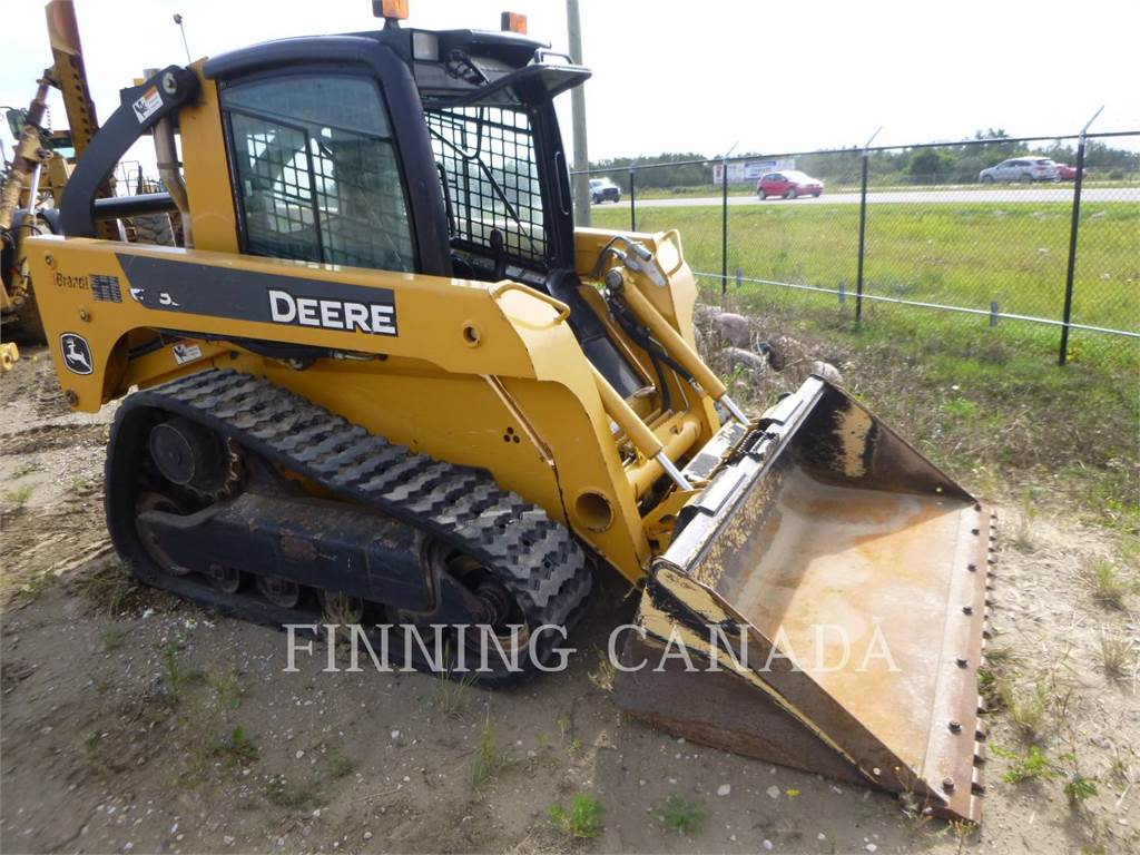 John Deere CT 322, Skid Steer Loaders, Construction