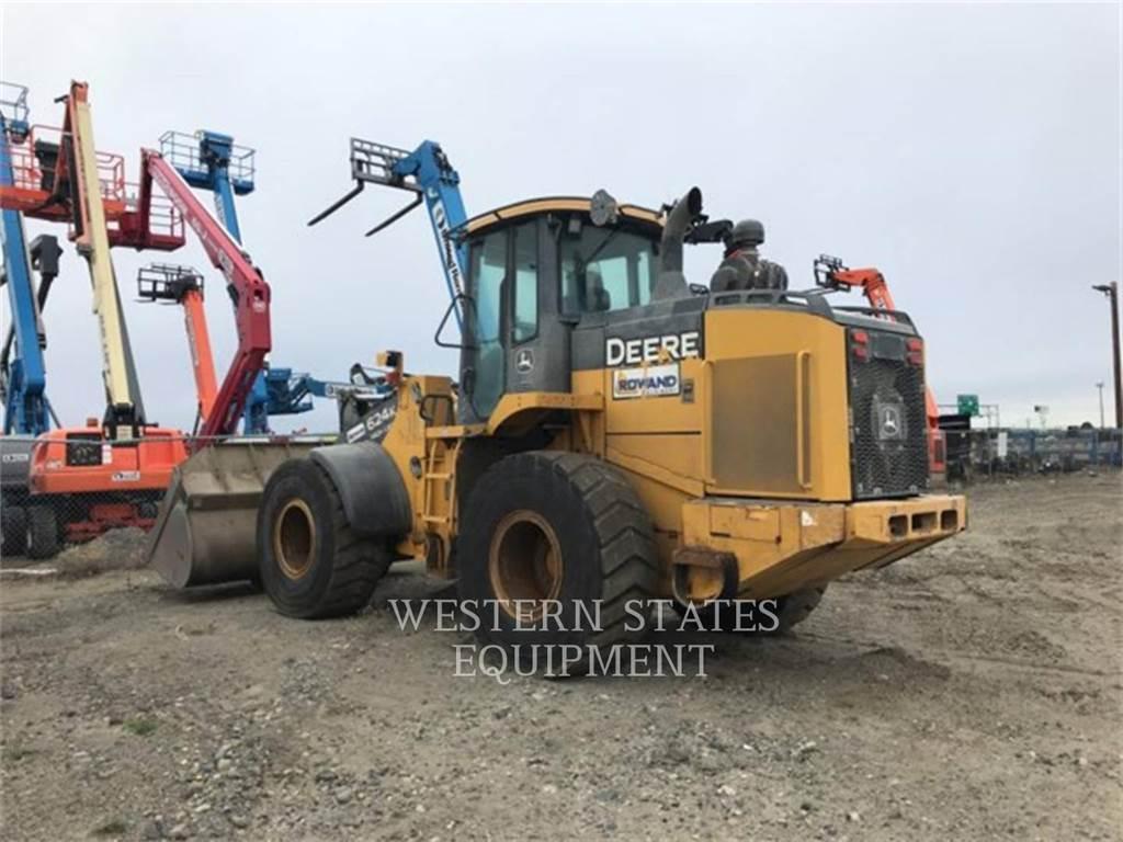 John Deere JD 624K, Wheel Loaders, Construction