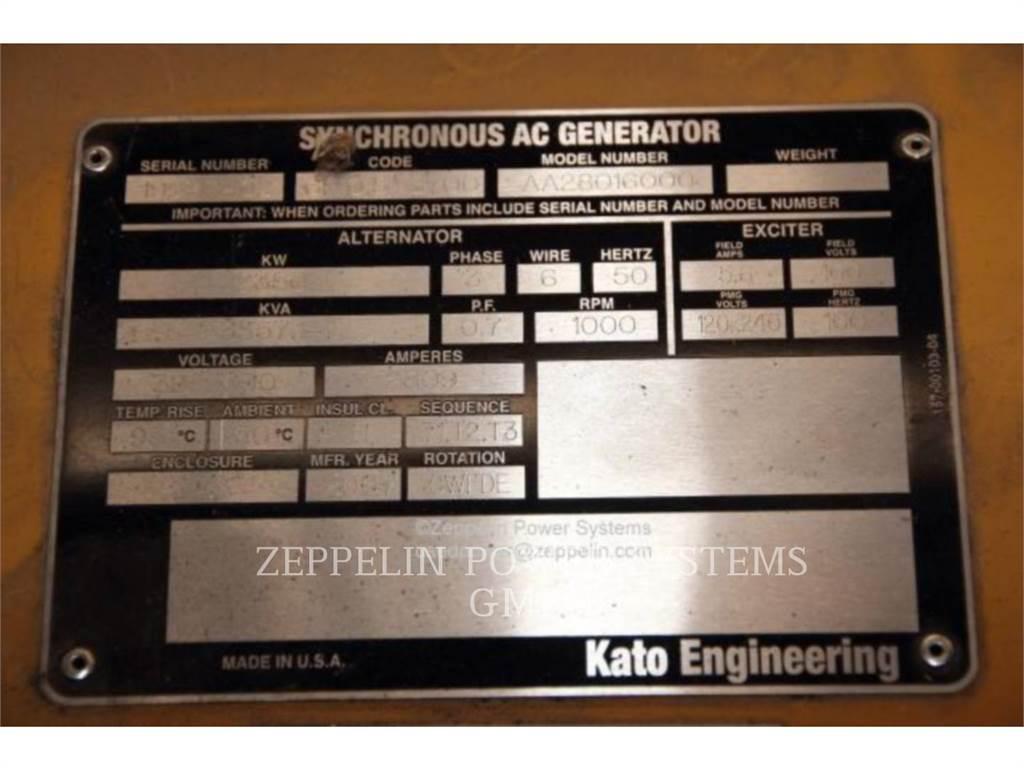Kato 6P10,5 - 3700, Groupes électrogènes Stationnaires, Équipement De Construction