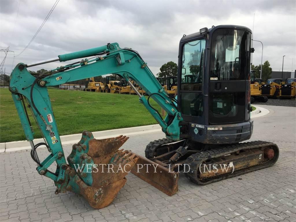 Kobelco / KOBE STEEL LTD SK30SR--5, Excavadoras de cadenas, Construcción