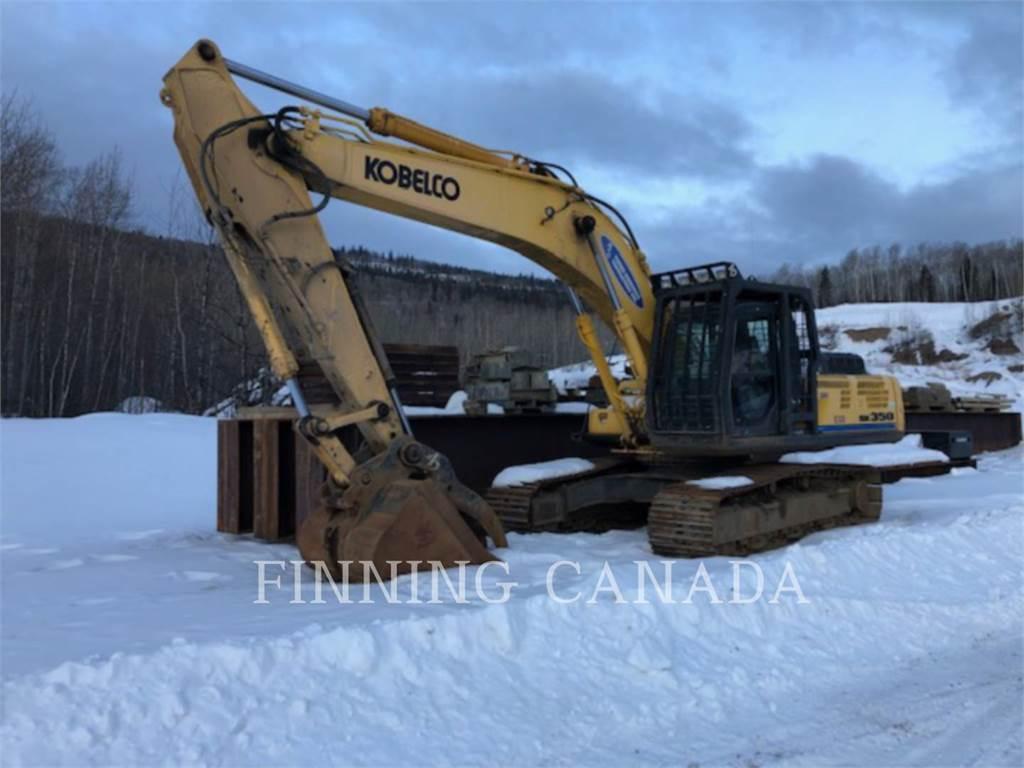 Kobelco / KOBE STEEL LTD SK350LC, Crawler Excavators, Construction