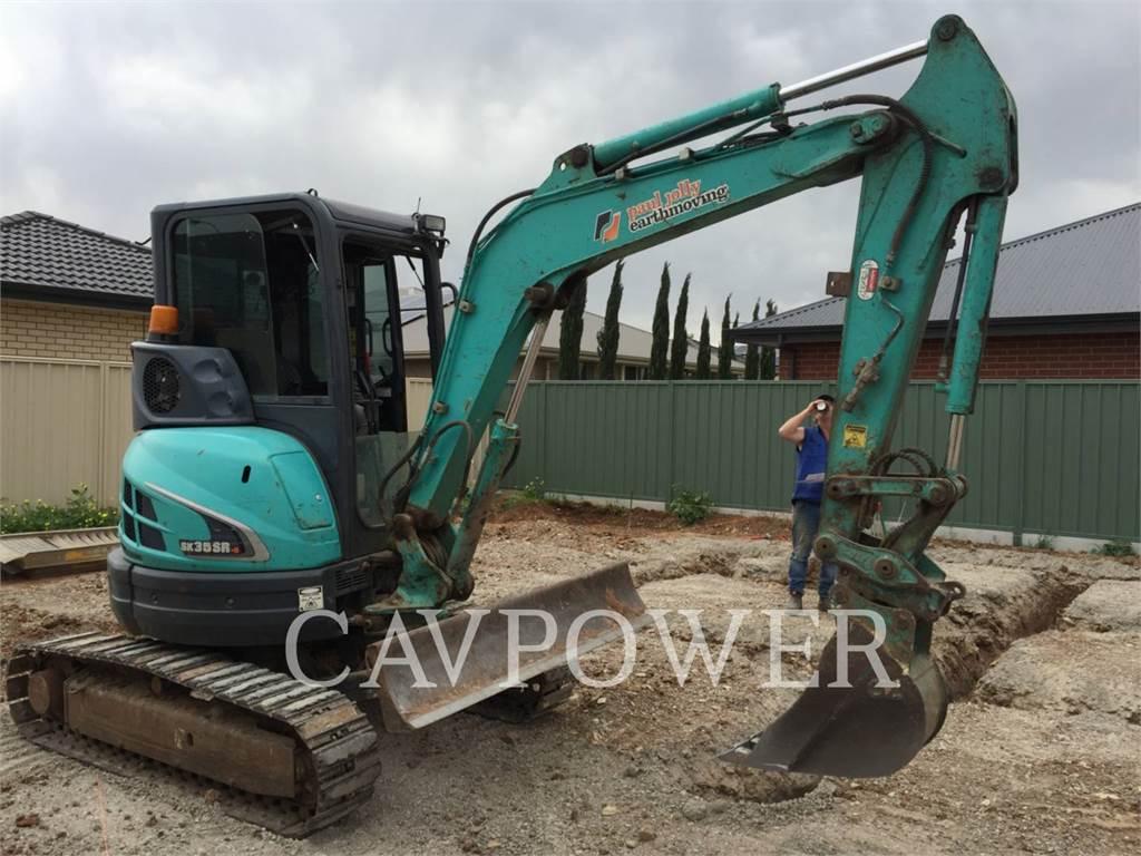 Kobelco / KOBE STEEL LTD SK35SR-5, Crawler Excavators, Construction