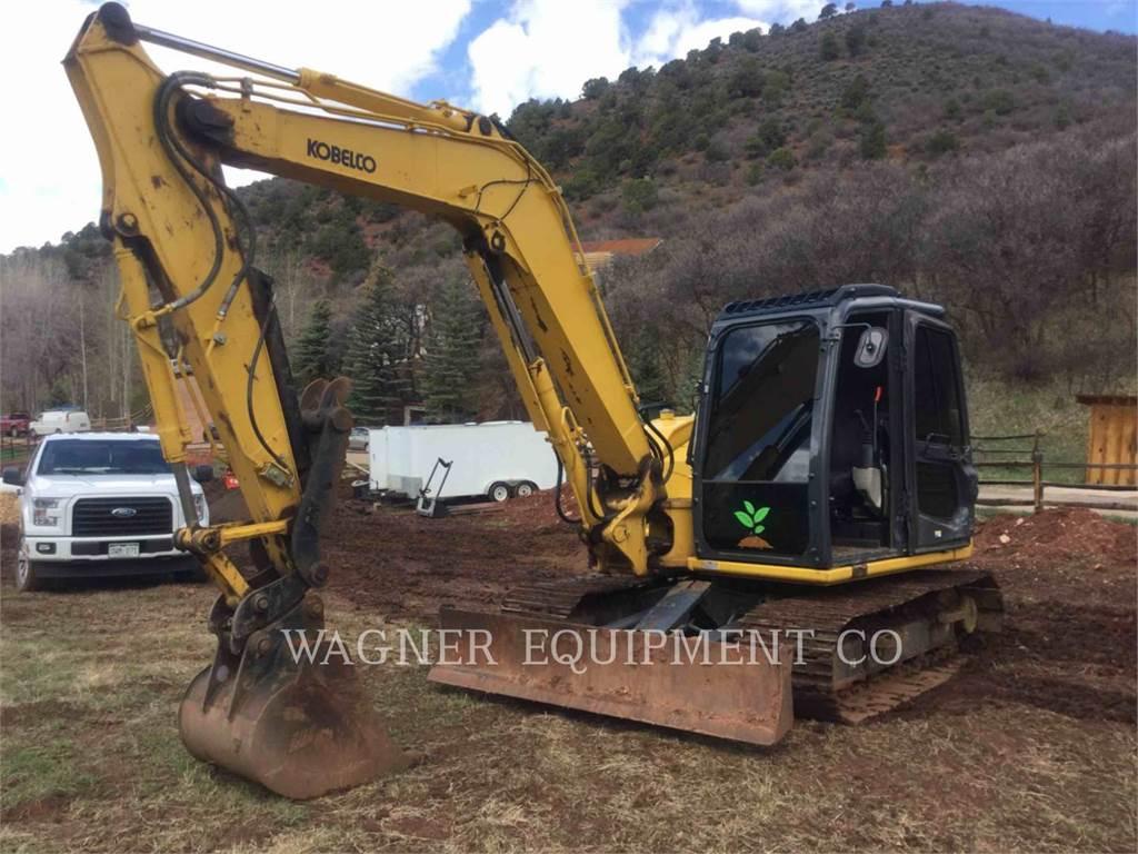 Kobelco / KOBE STEEL LTD SK85CS-3E, Excavadoras de cadenas, Construcción