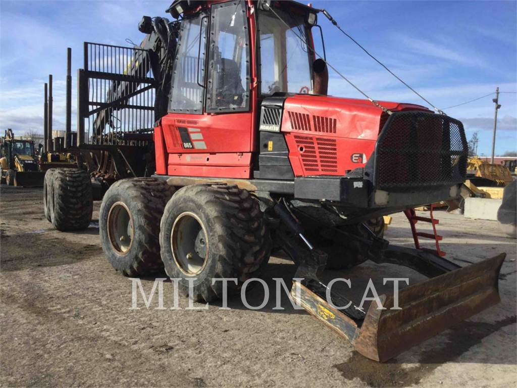 Komatsu 865, forwarder, Forestry Equipment