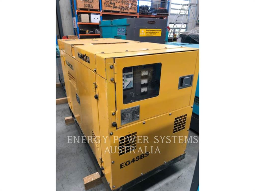 Komatsu EG45BS-2, transportable stromaggregate, Bau-Und Bergbauausrüstung