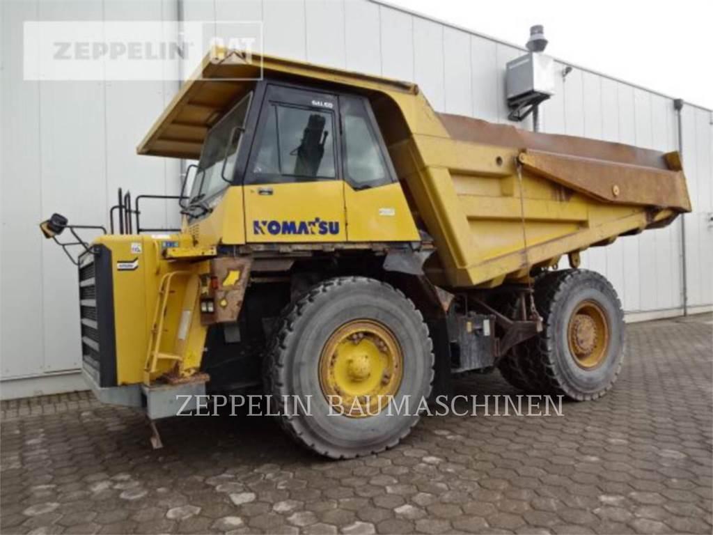 Komatsu HD405, Articulated Dump Trucks (ADTs), Construction