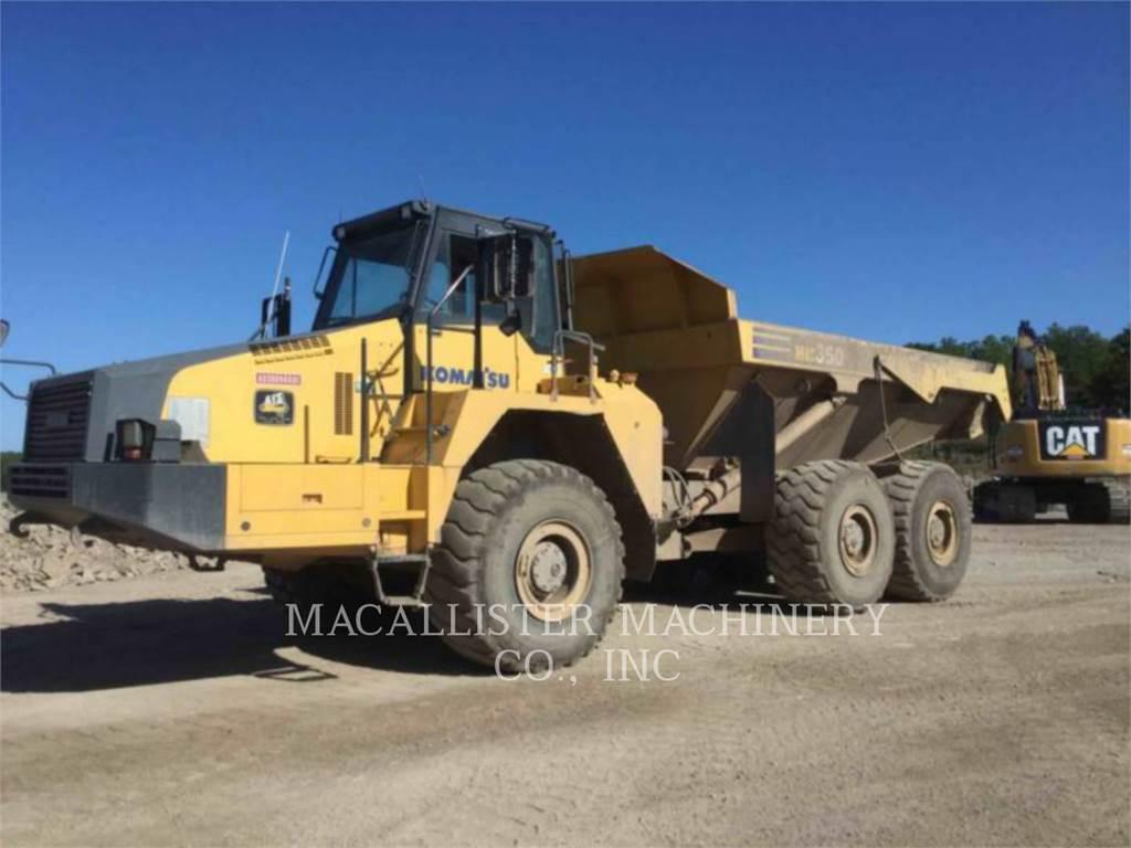 Komatsu HM 350 - 2, Articulated Dump Trucks (ADTs), Construction
