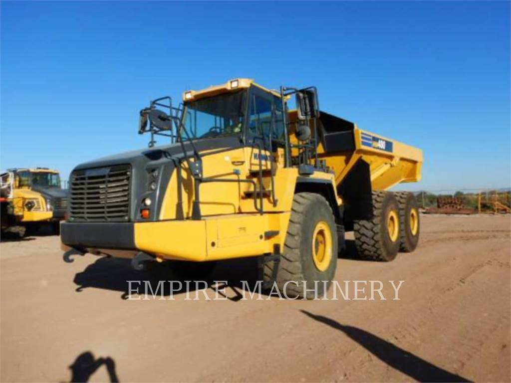 Komatsu HM400-3, Articulated Dump Trucks (ADTs), Construction