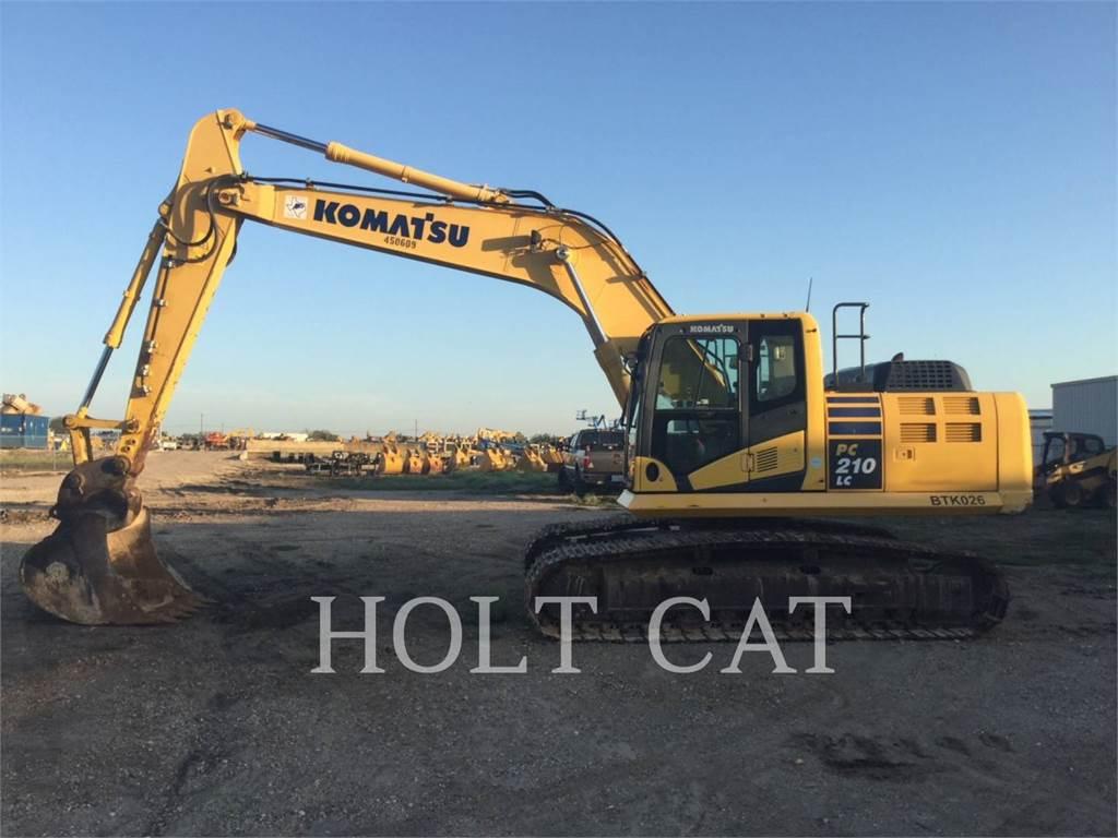 Komatsu PC 210 LC-10, Crawler Excavators, Construction