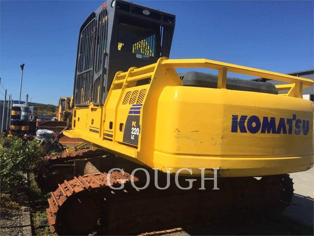 Komatsu PC 220 LC-7, Raupenbagger, Bau-Und Bergbauausrüstung