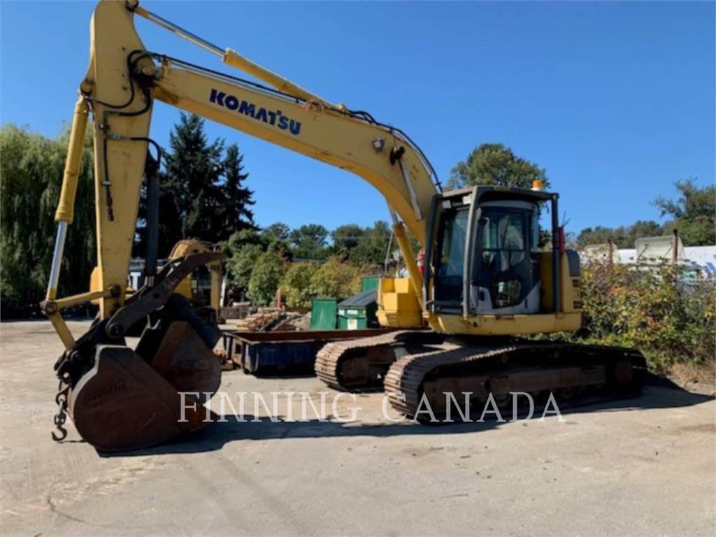 Komatsu PC 228 US LC-3, Crawler Excavators, Construction