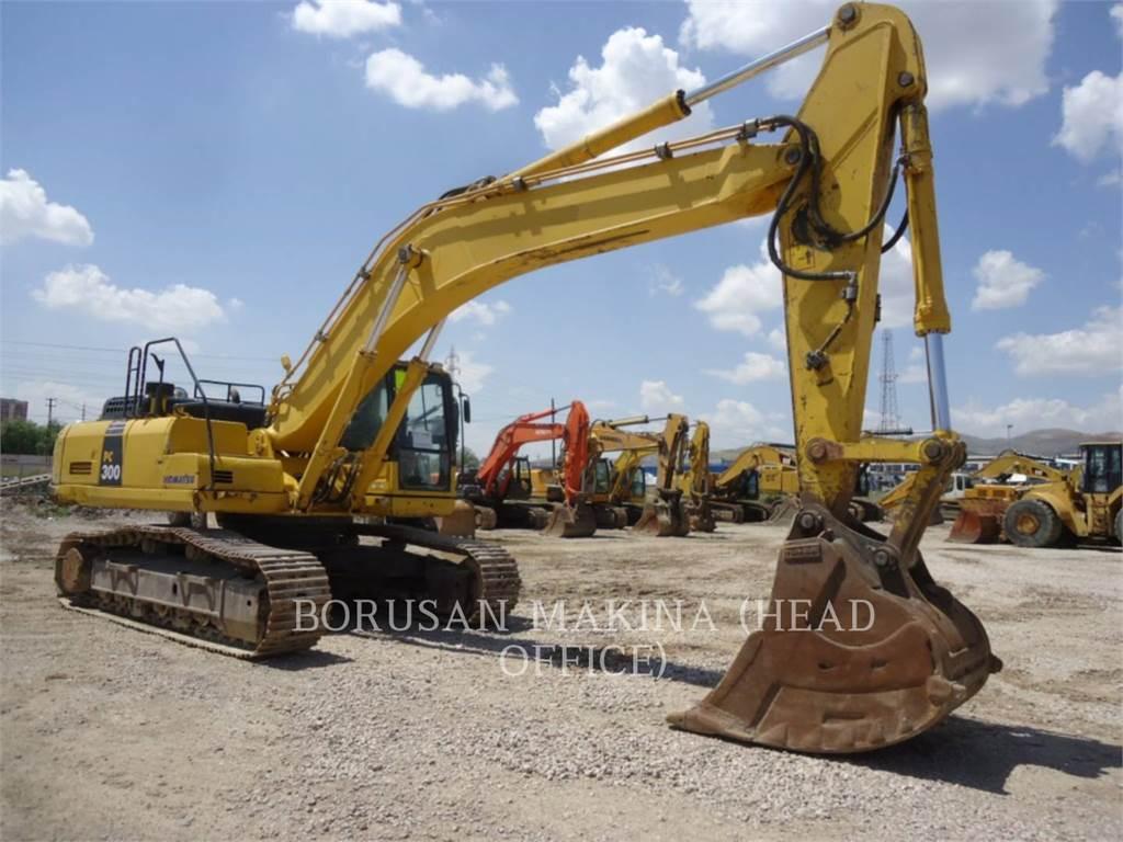 Komatsu PC 300-8, Crawler Excavators, Construction