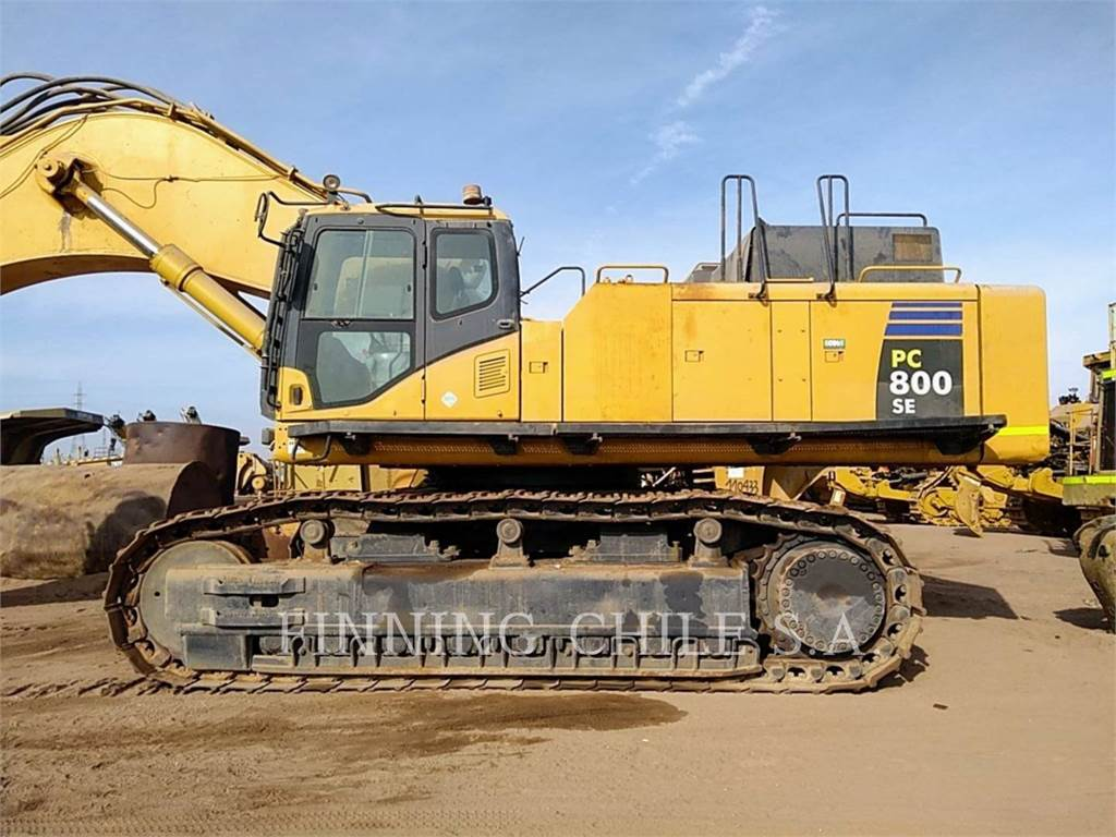 Komatsu PC 800-8, Raupenbagger, Bau-Und Bergbauausrüstung