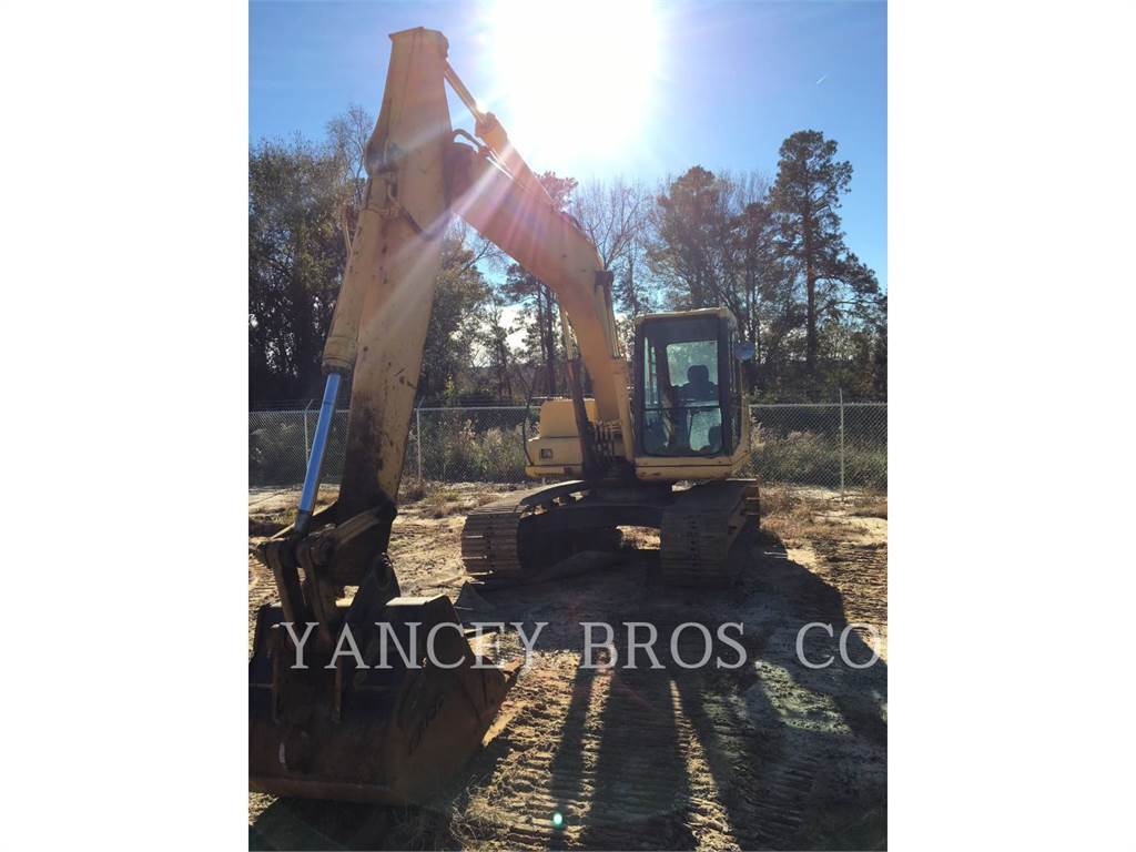 Komatsu PC120, Crawler Excavators, Construction