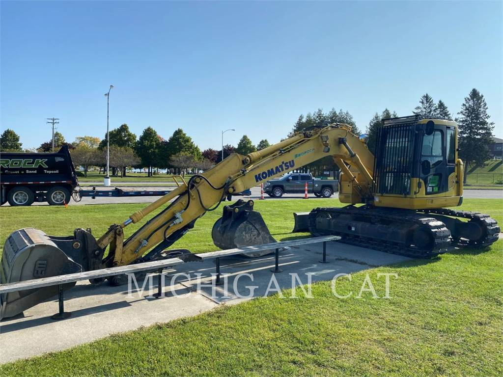 Komatsu PC138US.8, Crawler Excavators, Construction