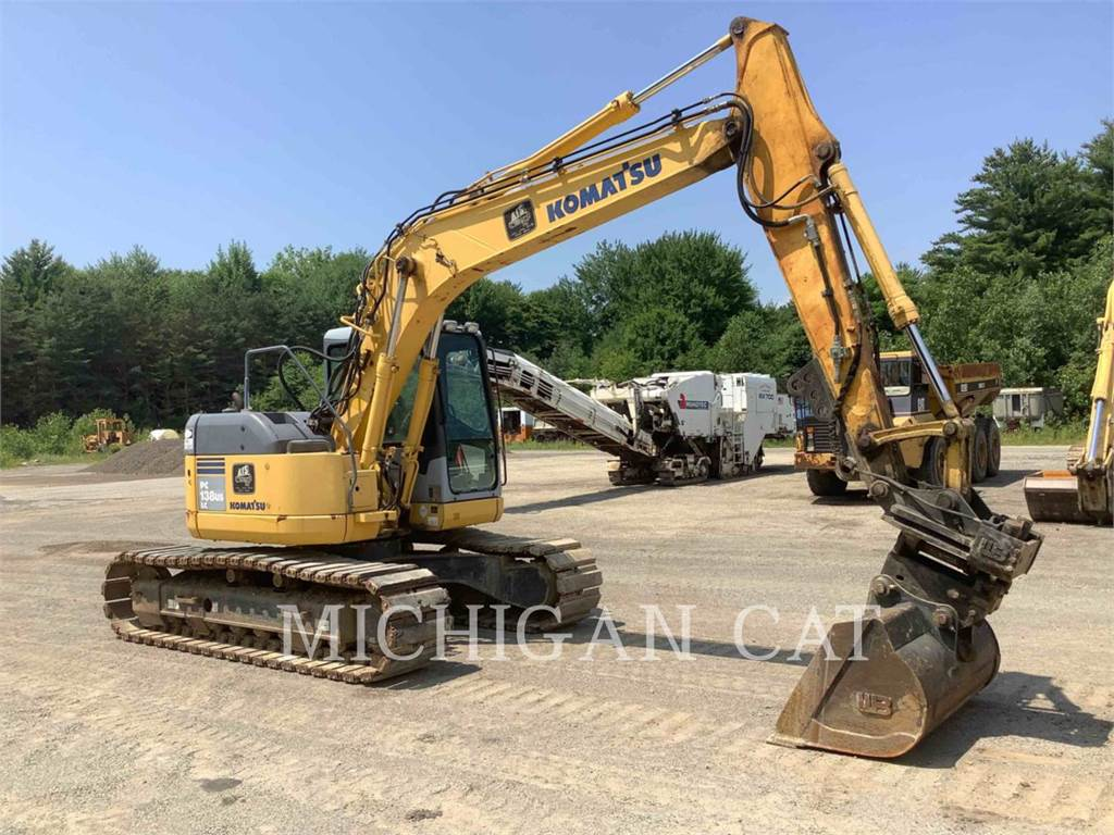Komatsu PC138USLC, Crawler Excavators, Construction