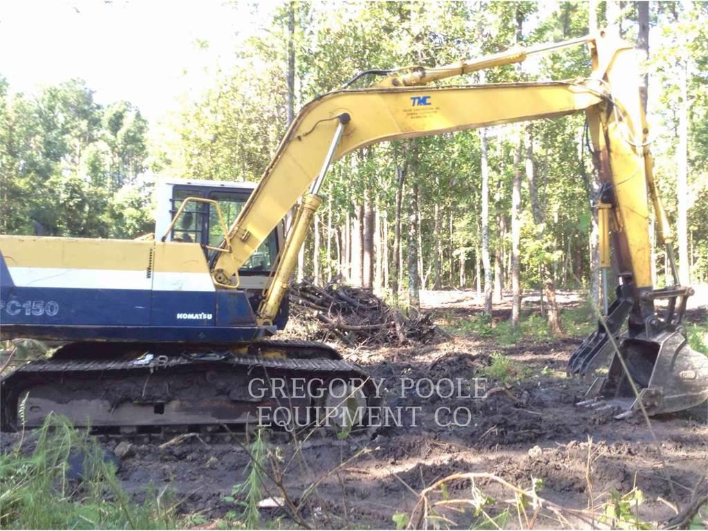 Komatsu PC150-5, Crawler Excavators, Construction
