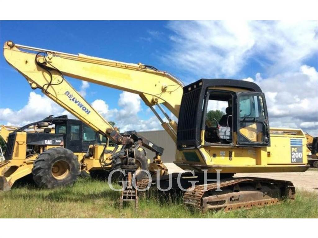 Komatsu PC200-7, Crawler Excavators, Construction