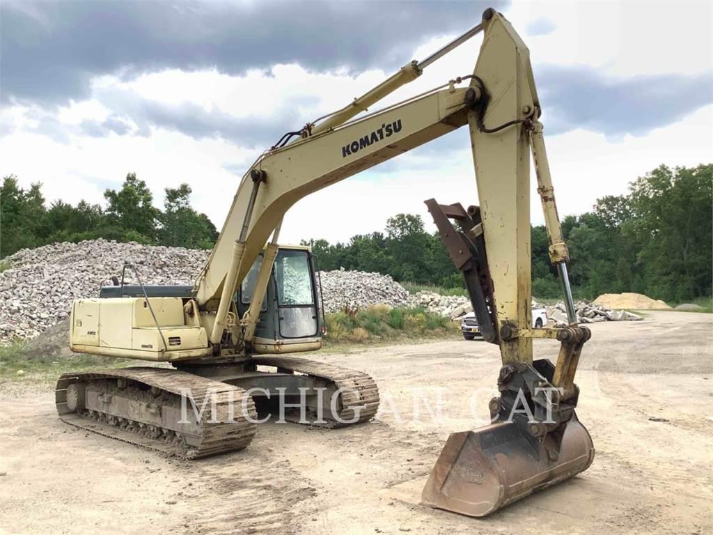 Komatsu PC200LC-6L, Excavadoras de cadenas, Construcción