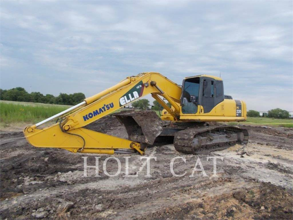 Komatsu PC200LC-7L, Crawler Excavators, Construction