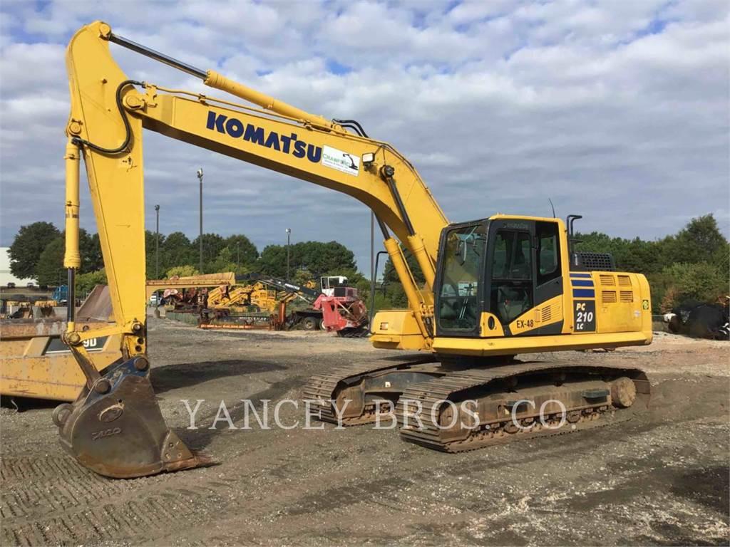 Komatsu PC210, Raupenbagger, Bau-Und Bergbauausrüstung