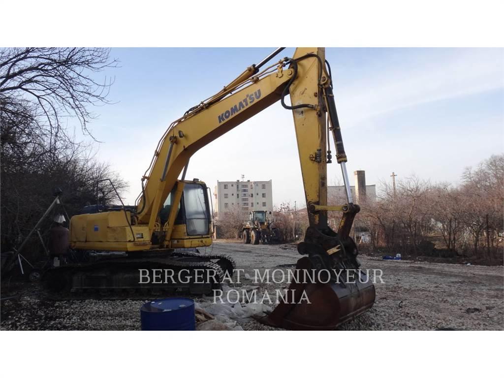 Komatsu PC210 LC - 8, Crawler Excavators, Construction