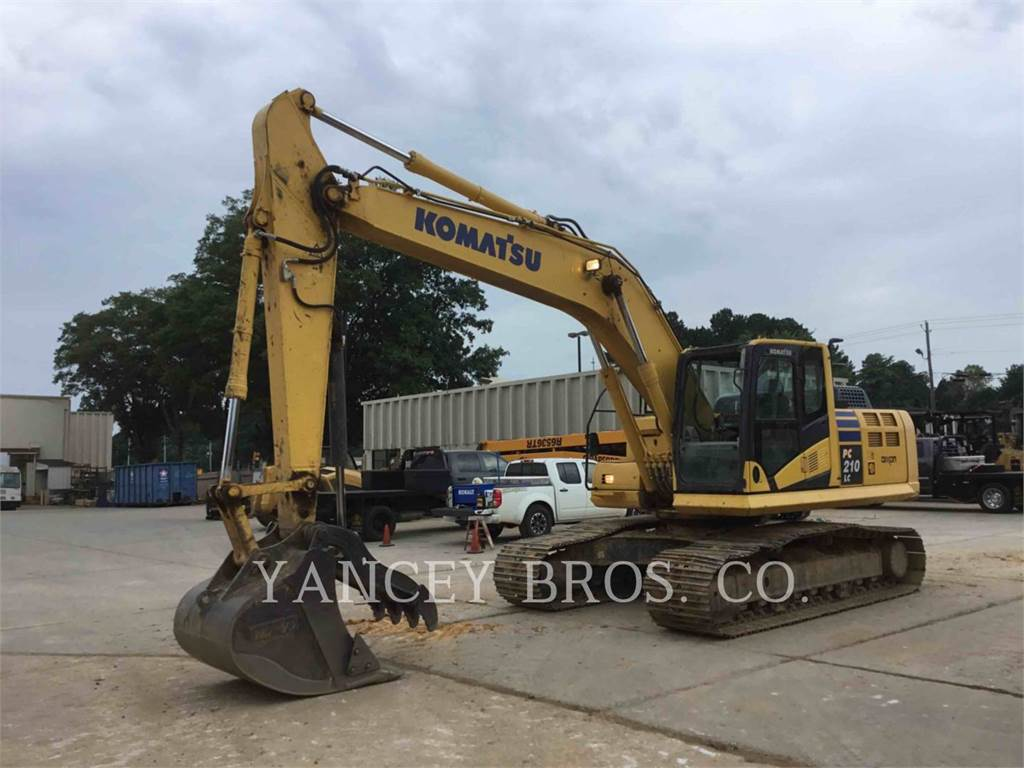 Komatsu PC210LC, Crawler Excavators, Construction