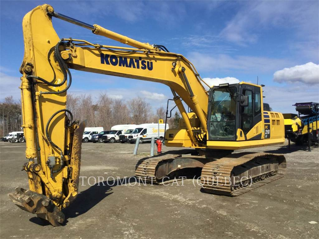 Komatsu PC210LC11, Crawler Excavators, Construction