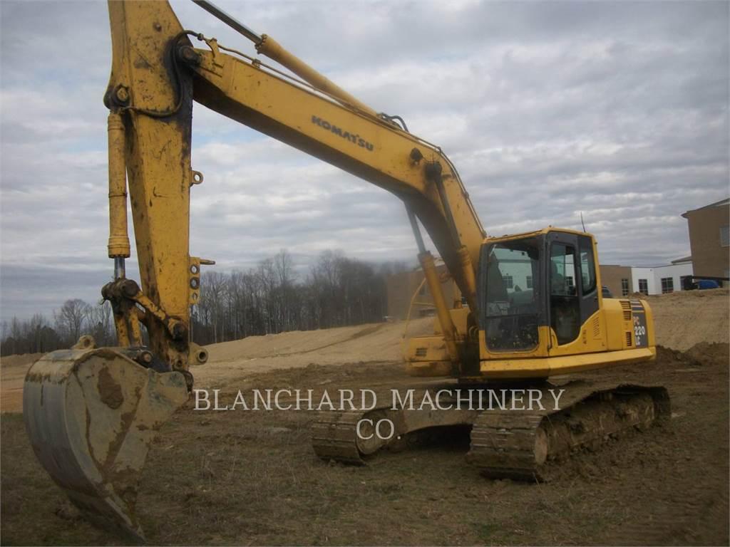 Komatsu PC220, Crawler Excavators, Construction