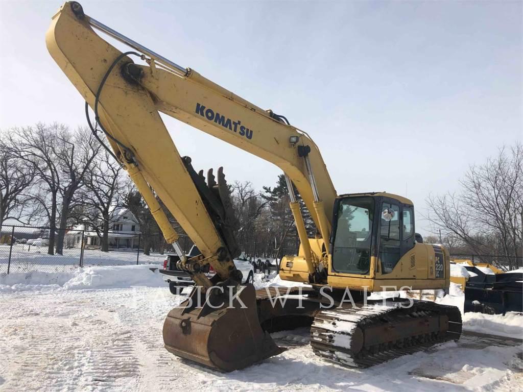 Komatsu PC220LC-7L, Crawler Excavators, Construction