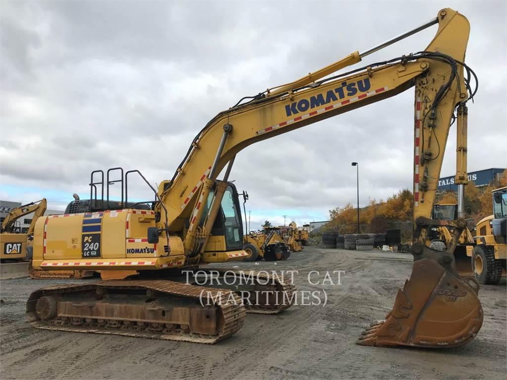 Komatsu PC240, Crawler Excavators, Construction