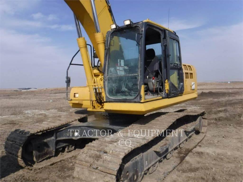 Komatsu PC290 LC10, Crawler Excavators, Construction