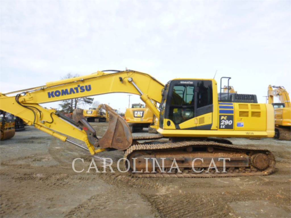 Komatsu PC290LC, Crawler Excavators, Construction