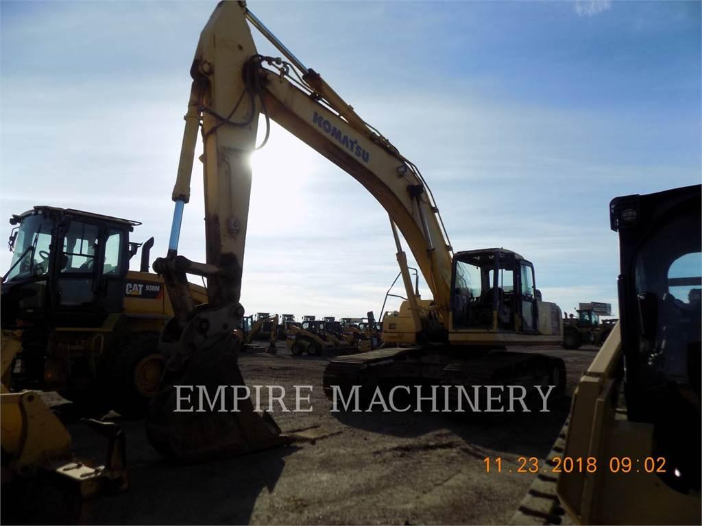 Komatsu PC300, Crawler Excavators, Construction