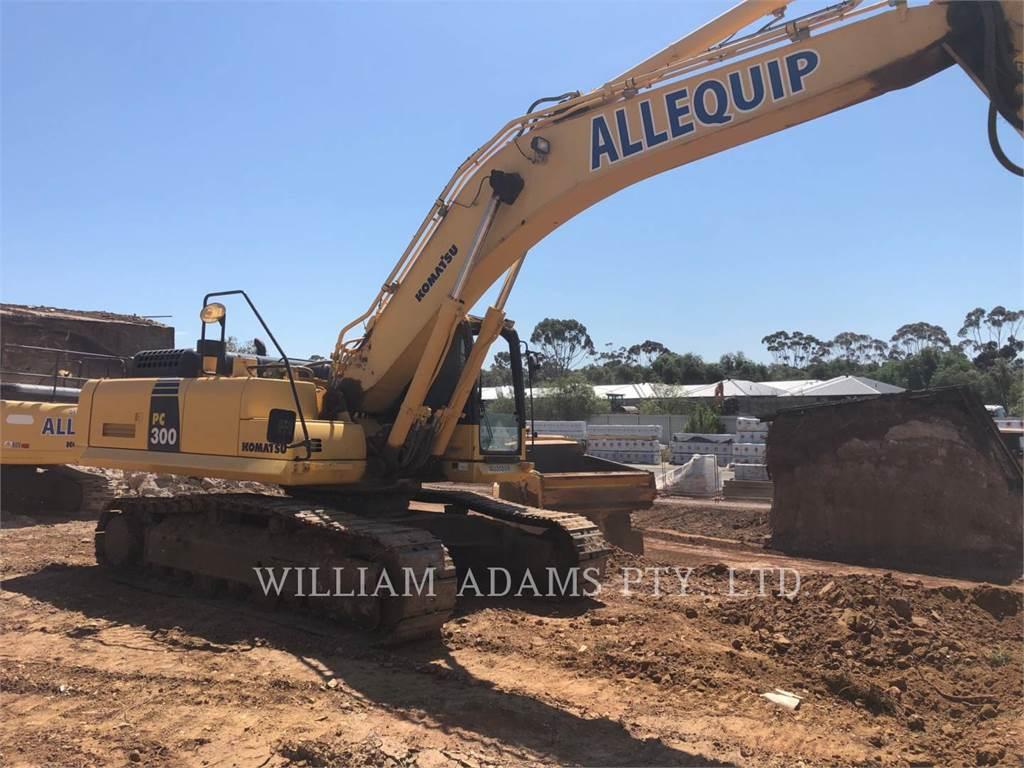 Komatsu PC300-8, Crawler Excavators, Construction