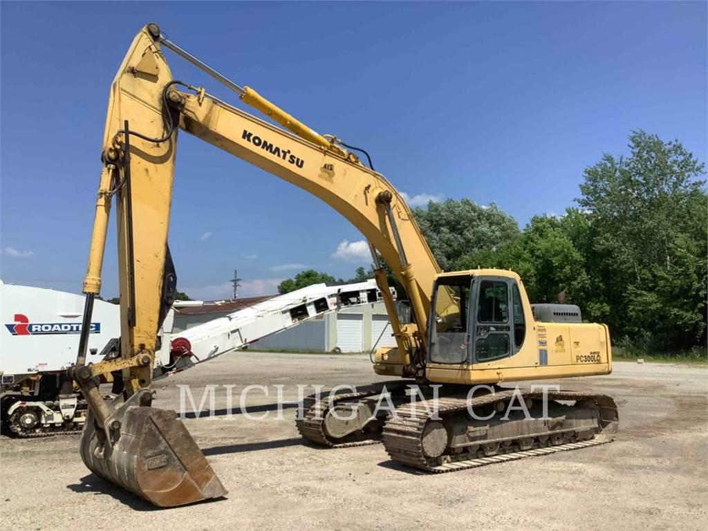 Komatsu PC300LC-6LC, Crawler Excavators, Construction