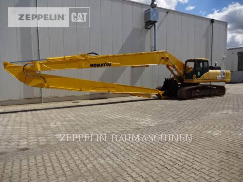 Komatsu PC340NLC, Crawler Excavators, Construction