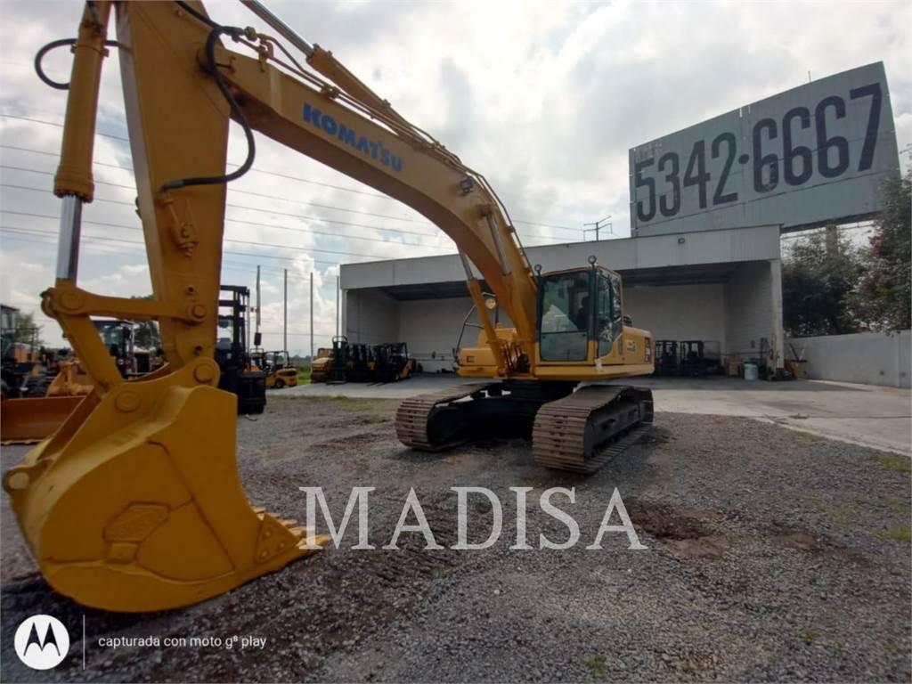 Komatsu PC350LC, Crawler Excavators, Construction