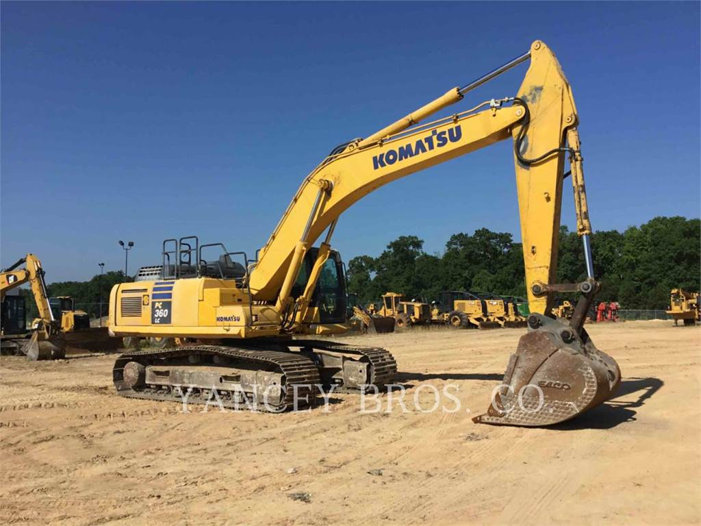 Komatsu PC360LC, Crawler Excavators, Construction
