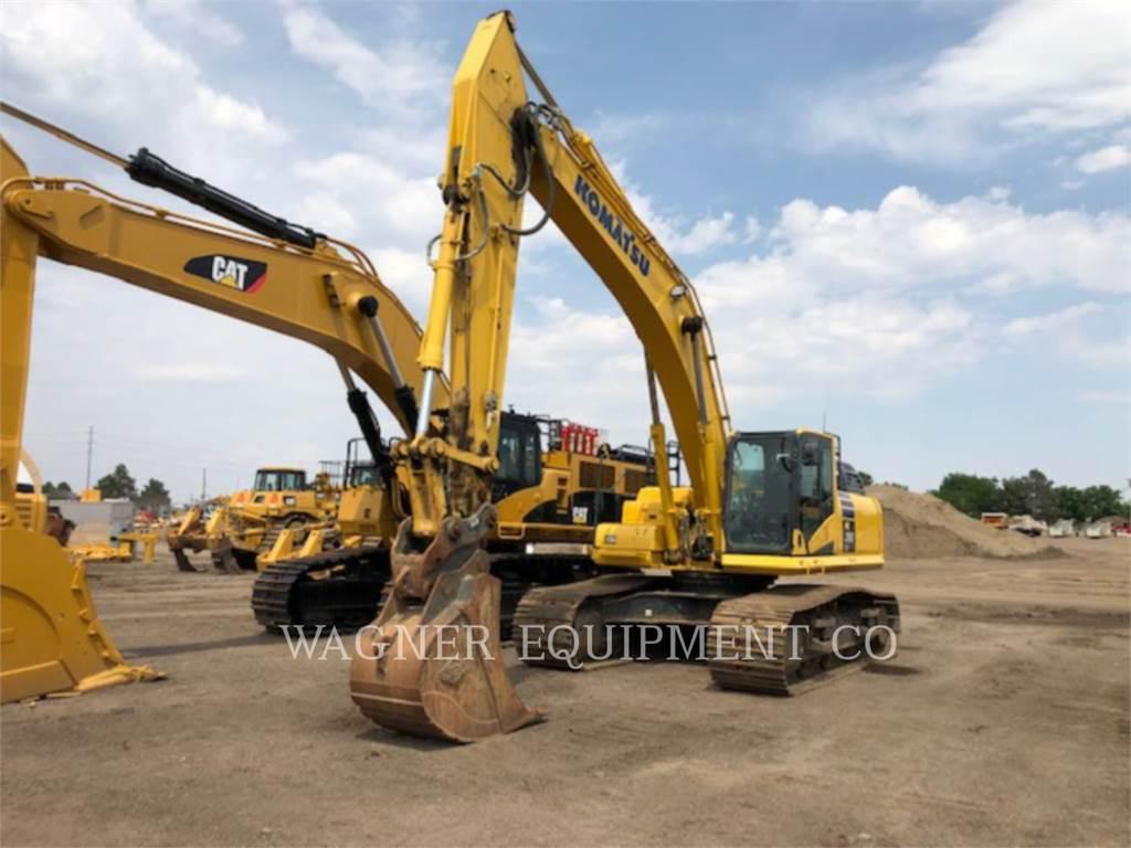 Komatsu PC390LC-11, Crawler Excavators, Construction
